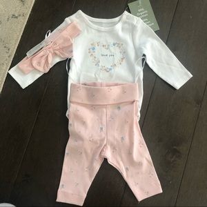 NWT H&M baby girl outfit